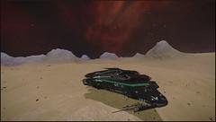 2 - Eta Carina Sector MX-U c2-8 A12d (CMDR Snarkk) Tags: elite dangerous space nebula gas giant planet star krait guardian