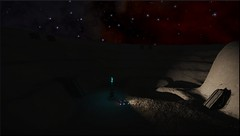 ruines 2 (CMDR Snarkk) Tags: elite dangerous space nebula gas giant planet star krait guardian