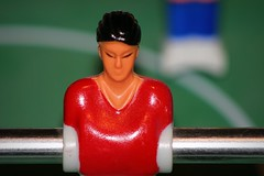 Table Football (oddbodd13) Tags: macromondays childhoodtoys table football soccer foosball game macro