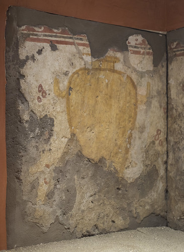 Painted tomb (1801) from Sarno: hydria