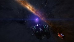 Eta Carinae (CMDR Snarkk) Tags: elite dangerous space nebula gas giant planet star krait guardian