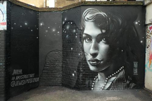 Philth graffiti, Camden