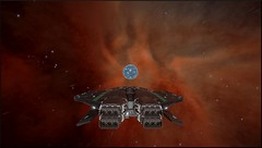 1 - Eta Carina Sector MX-U c2-8 A10 (CMDR Snarkk) Tags: elite dangerous space nebula gas giant planet star krait guardian