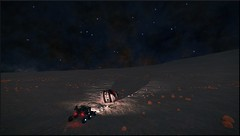 Recherche de materiaux (CMDR Snarkk) Tags: elite dangerous space nebula gas giant planet star krait guardian
