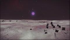 ruines 1 (CMDR Snarkk) Tags: elite dangerous space nebula gas giant planet star krait guardian
