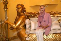 1232052g (aishagadafi1976) Tags: ayesha algaddafi daughter libyan leader muammar at her home tripoli libya 05 oct 2010 lawyer aisha mermaid sofa settee residence alone female personality 8387572