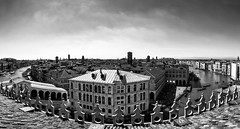 Panoramique (Stephane Rio 56) Tags: printemps venise europe ville nb italie bw italy life rue street town venice vie spring provincedevenise flickrunitedaward