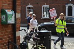 Spotting the defibrillators (Chrispics Photography) Tags: farnham walking festival lions heartstart