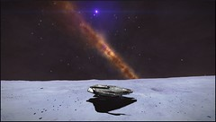 Eta Carinae 1 (CMDR Snarkk) Tags: elite dangerous space nebula gas giant planet star krait guardian