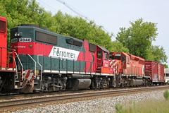 FXE 2046 and CP 5996 complete 2WWA-03's stellar EMD lashup (AndyWS formerly_WisconsinSkies) Tags: train railroad railway railfan canadianpacificrailway canadianpacific cprail cp ferromex emd gp382 locomotive