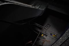 Peur du vide (Dotzap) Tags: light door white black abandoned abandonned indoor inside delessert raphael switzerland swiss suisse exploration urban urbex hole deep