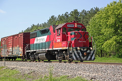 Doing the jobs Americans won't do (AndyWS formerly_WisconsinSkies) Tags: train railroad railway railfan canadianpacificrailway canadianpacific cprail cp ferromex emd gp382 locomotive