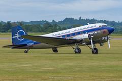 C-47 Legend Airways 'Liberty' N25641 (Mark_Aviation) Tags: c47 legend airways liberty n25641 north africa operation overlord dday usaaf dc3 dakota dakotas daks over duxford normandy iwm wwii ww2 warbird aircraft airplane airport egsu dux museum