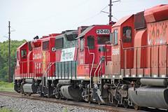 North, south and north again (AndyWS formerly_WisconsinSkies) Tags: train railroad railway railfan canadianpacificrailway canadianpacific cprail cp ferromex emd gp382 locomotive