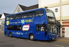 Go South Coast (Bluestar). HJ63 JMU. 1556. (Drive-By Photography) Tags: go bluestar hj63jmu 1556 adl alexander dennis enviro400 bus psv southampton