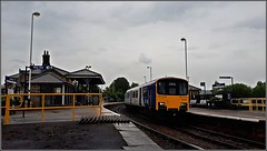 Once a junction (Colin Partington) Tags: 20190607 southyorkshire penistone northern northernrail class150 150124 2b19