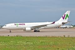 Airbus A330-223 - EC-MTT - HAJ - 10.06.2019(2) (Matthias Schichta) Tags: haj hannoverlangenhagen eddv plane planespotting airbus a330200 wamosair ecmtt flugzeug flugzeugbilder
