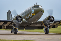 C-53 D-Day Doll N45366 (Mark_Aviation) Tags: c53 dday doll n45366 operation overlord market garden repulse varsity wwii veteran usaaf dc3 dakota c47 dakotas daks over duxford normandy iwm ww2 warbird aircraft airplane airport egsu dux museum