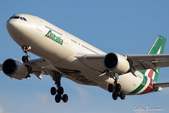 Alitalia A330 (galenburrows) Tags: aviation aircraft airplane airbus a330 alitalia flight flying cyyz yyz toronto