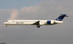 Blue1 McDonnell Douglas MD-90-30 (RuWe71) Tags: blue1 kfblf bluefinn blue1oy finland helsinki mcdonnelldouglas mcdonnelldouglasmd9030 md9030 dc9 ohble cn534572138 jamijärvi barcelonaelprat barcelonaelpratairport elpratdellobregat aeropuertodebarcelona bcn lebl twinjet ttail landing narrowbody sasgroup mcdonnelldouglasdc9 md90