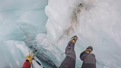 Inside the Easton Glacier. (ashtenphoto) Tags: mountain mountains mountainscape mountaineer mountaineering mountaineers alpine bealpine alps alpinist climb climbing pnw pacific northwest gopro
