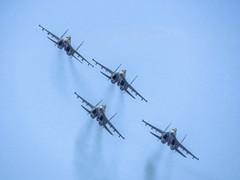 Su-35S. Aerobatic team Sokoly Rossii (Vitaly Giragosov) Tags: su35 aircraft airforce airplane aviation crimea sevastopol russia су35 истребитель авиация авиашоу севастополь россия