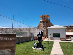 IMG_20190610_115123777_HDR (goflight001) Tags: summer2019 canoncity coloradostatepenitentiary prison gaschamber museum prisonerart guardtower