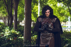 SP_99239-2 (Patcave) Tags: momocon momocon2019 2019 convention cosplay costumes cosplayers portrait shoot shot canon 5d3 sigma 85mm art f14 lens patcave atlanta georgia world congress center outdoors hot humid jon snow game thrones aegon targaryen cloak leather gloves ice fire winter is coming george rr martin