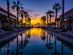 5AM @ Isla Mujeres (hvitebski) Tags: ifttt 500px dusk promenade twilight skyline river sky water clouds sea beach night reflection summer architecture