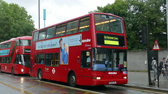 Presidential Replacement (londonbusexplorer) Tags: metroline travel volvo b7tl plaxton president vp549 lk04cvl rail replacement london overground willesden junction gunnersbury tfl buses