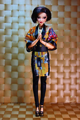 Modern maiko (saratiz) Tags: yukata klimt japan madetomove barbie barbiethelook fashiondolls fashion