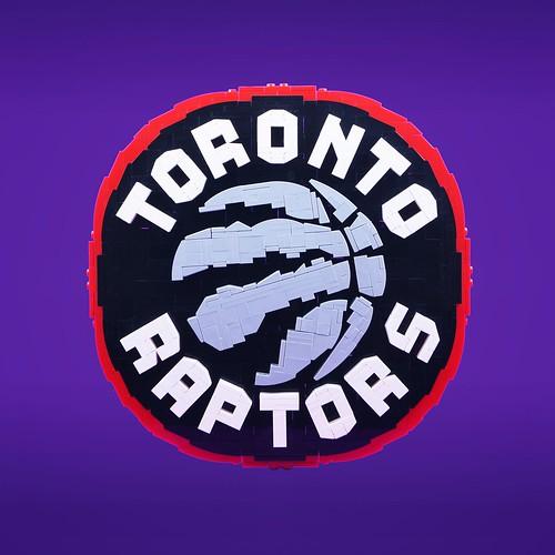 LEGO Toronto Raptors Logo