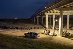 Migrants Surrender to U.S. Border Patrol (CBP Photography) Tags: borderpatrol cbp dhs mcallen rincon riogrande uscustomsandborderprotection usdepartmentofhomelandsecurity usbp migrants unitedstates