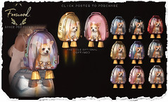 Foxwood - Space Pup Packs @ C88 (Dani @ Foxwood/Alchemy/Birdy/Foxes) Tags: screenshot sl secondlife foxwood corgi pet space pup puppy nina helix mesh c88 backpack