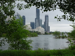 Toronto welcomes basketball fans - Game 5 today! (Trinimusic2008 -blessings) Tags: trinimusic2008 judymeikle nature today june 2019 rainy dull spring waterfrontrecreationaltrail asharedpath toronto to ontario canada mimico water lakeontario wethenorth nbafinals raptors sooc sonydschx80