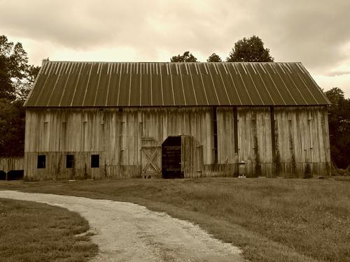 Farm Life - Tobacco Barn Repurposed