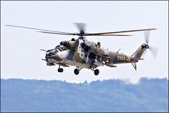Mil Mi-24V Hind (Pavel Vanka) Tags: mil mi24v hind mi35 lkcv caslav czech czechrepublic aircraft plane airplane spotter spotting fly flying airshow aviation canon helicopter military gunship czechairforce czaf