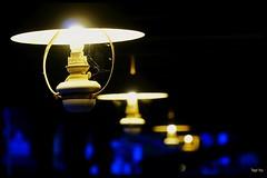 In the dark. ... (tingel79) Tags: leuchten laterne lamp lampe lichter licht nachtaufnahme nightshot nachts outdoor germany