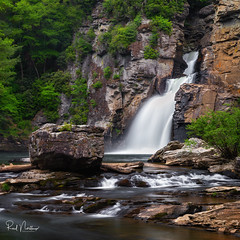 Linville Falls (Reid Northrup) Tags: rrs nature blueridgeparkway foliage forest landscape linvillefalls linvillegorge longexposure nikon northcarolina reidnorthrup river rocks scenic trees water waterfall