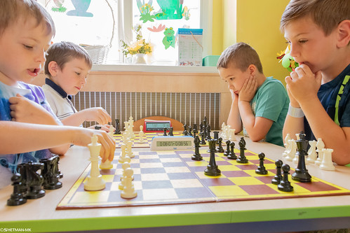 XI Szachowe Mistrzostwa Przedszkola Nr 6-36