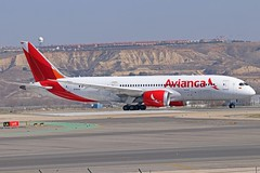 N783AV (Dutch Civil Aircraft Photography) Tags: avianca boeing 787 dreamliner boeing787 boeing7878 mad