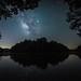 Milky Way over Sleepy Hollow. Pulaski County, Arkansas. 2019.