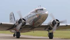 """Miss Montana"" C-47 (cjf3 - f15tog) Tags: c47 missmontana dday75thanniversary duxfordimperialwarmuseum iwm flyinglegends"