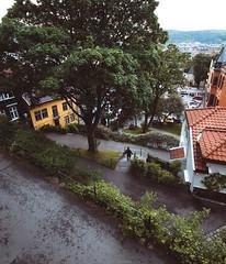 Zigzag! (Steinskog) Tags: bergen norway street summer houses