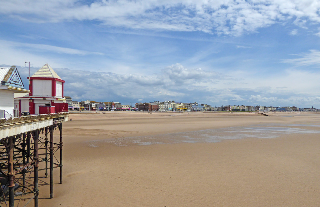 Blackpool Beach from Central Pier