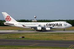LX-ECV (Andras Regos) Tags: aviation aircraft plane fly airport bud lhbp spotter spotting cargolux cargo freighter boeing 747 b744 747400er jumbo jumbojet