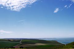 Littoralistique (Atreides59) Tags: nord france mer sea water eau bleu ciel sky nuages clouds vert green jaune yellow pentax k30 k 30 pentaxart atreides atreides59 cedriclafrance nature