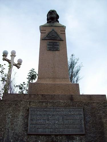 Busto de Tiradentes - Igreja do Rosário - Barbacena (MG)