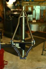 Negative Space (44 Bikes) Tags: 44bikes custombicycle huntsman framebuilding titanium
