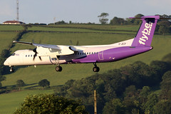 G-JECP_21 (GH@BHD) Tags: gjecp dehavilland bombardier dhc dhc8 dhc8402q dasheight be bee flybe turboprop aircraft aviation airliner bhd egac belfastcityairport propliner
